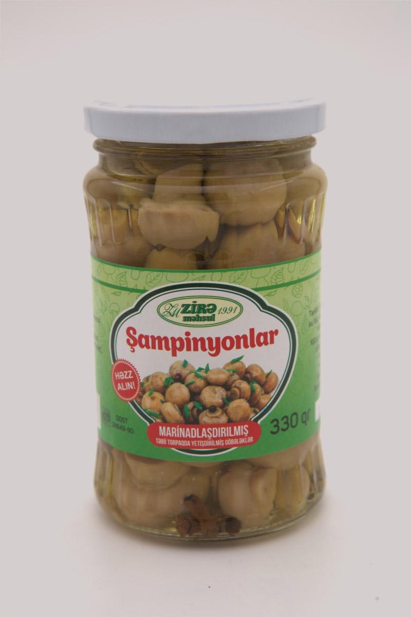 Champignons kunservated 0.33 L